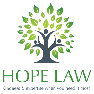 Hope Law Stacked Logo